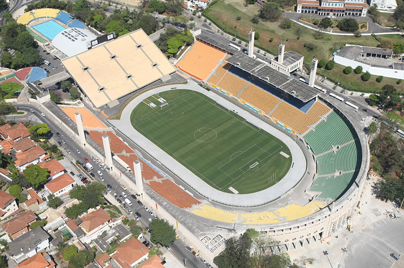 Estádio do Pacaembu - Retrofit - Rubens Chiri/FCVB-SP
